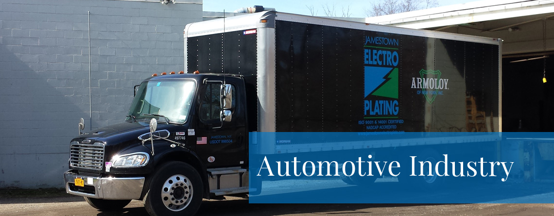 Our vehicles should be built to last and that's why Jamestown Electroplating has pioneered a revolutionary finish know as Electro-Coat, which is currently used by every car manufacturer in the United States.
